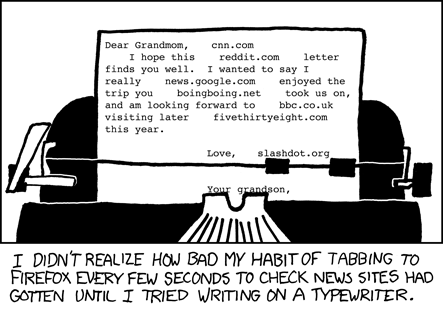 typewrite from xkcd.com
