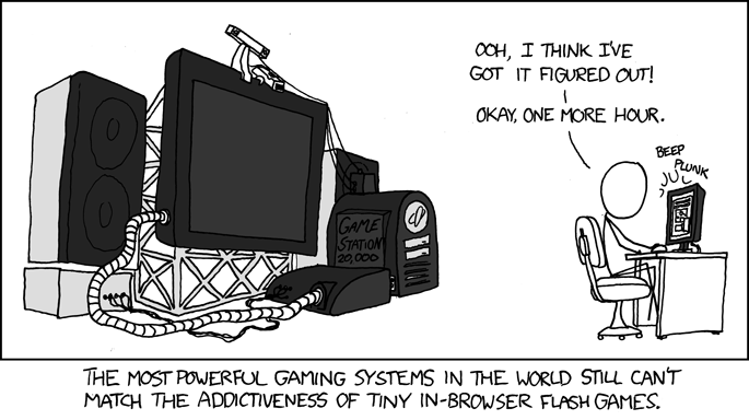 """Flash Games"" by xkcd.com"