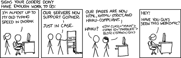 XKCD: Not Enough Work